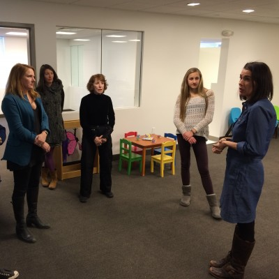 WGF Site Visit to PC Tots
