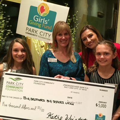 Girls' Giving Fund Awards Grant