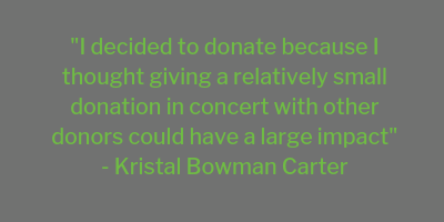 Women's Giving Fund Spotlight: Kristal Bowman-Carter