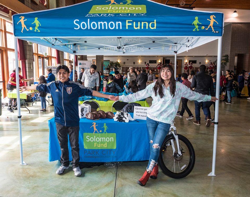 Park City's Sports. Solomon Fund Registration Event