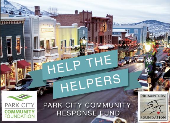 Promontory Foundation Pledges $10,000 Impact Grant Toward Park City Community Foundation's Community Response Fund